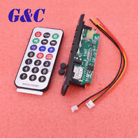 Wireless Bluetooth 12V MP3 WMA Decoder Board Bluetooth IC USB TF Radio