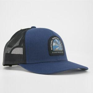 Rip Curl Aust Desto Trucker Hat Mens in Navy