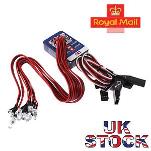 12 LED Lighting Kit Steering Brake Simulation Flash Light for 1/10 Model RC ~RMJ