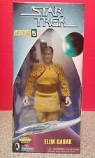 "Star Trek WFS 5 Elim Garak  9"" Action Figure 1998 Playmates  Gold Foil Sticker"