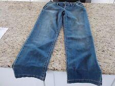 NEW Apt. 9 Trouser Mid Rise Straigt Leg Relazed Leg Opening Women's Jeans Size 4