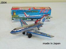 Vintage PAN AMERICAN BOEING 727 Airplane Toy JAPAN