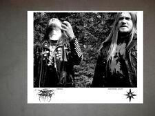 Dark Throne Promo Photo 2 8x10 Bathory Mayhem Carpathian Forest Darkthrone