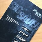 ORIGINAL 2011 SIG SAUER HUNTING, SPORTS, POLICE & MILITARY FIREARMS CATALOGUE