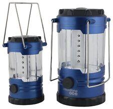 Yellowstone TWIN PACK 12 & 18 Led Lanterns Set 360º Illumination Family Camping