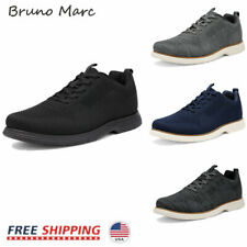 Bruno Marc Mens Fashion Sneakers Mid Top Knit Comfort Casual Shoes Walking Shoes