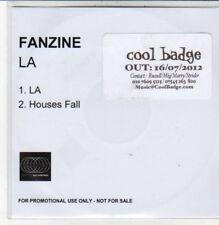 (DC650) Fanzine, LA / Houses Fall - 2012 DJ CD