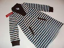 Gymboree Girls Best Friend Girls Size 4 Stripe Velour Brown Blue Dress NEW