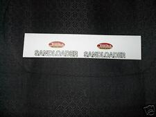 TONKA TRUCK SANDLOADER DECAL WITH OVAL LOGO