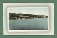 C1920'S POSTCARD EAST BAY FROM THE PIER LAMLASH, ISLE OF ARRAN