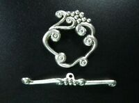 10 Sets Tibetan Silver Fancy Toggle Clasp R1357