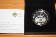 (PL) ROYAL MINT 2010 UK RESTORATION OF THE MONARCHY £5 SILVER PROOF COIN ENGLAND