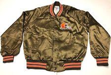 Chalk Line Cleveland Browns Satin Jacket Mens Size XL NFL American Football