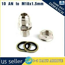 Turbo Oil Pan / Oil Return Drain Plug Adapter Bung Fitting 10An no Weld
