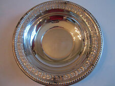 1954 WEST TEXAS OPEN SKEET GA LADIES CHAMPION TROPHY BOWL-SILVER PLATE-WALLACE