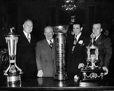Detroit Red Wings JAMES NORRIS, JACK ADAMS, SID ABEL & JOHNNY MOWERS 8x10 Photo
