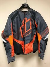ICON Overlord 2 Textile Moto D30 Motorcycle Jacket Coat Armored XL NEW AUTHENTIC