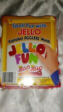 SPELL FUN WITH JELLO ALPHABET JIGGLERS MOLDS