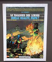 RIBERA. Le Vagabon des Limbes N°6 + Dessin original. Vaisseau d'argent 1990 TBE