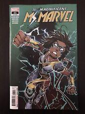Magnificent Ms Marvel #11 MARVEL 2020 1st Full App Of Stormranger HOT