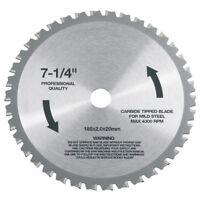 Flex 185mm Hm Lame de Scie Pour Acier 312.304 À Métal Circulaire Csm 4060 312304