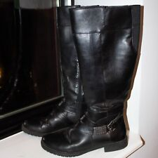 Life Stride leather wide calf riding boots size 7.5