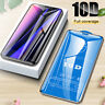 3Pcs For iPhone 11 Pro Max 10D Full Cover Tempered Glass Screen Protector lot