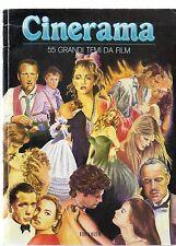 Cinerama 55 Grandi temi da film  ed. Ricordi 1988.  X25