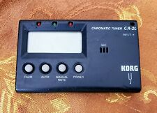 KORG GUITAR/ BASS TUNER CA-20 WORKS GREAT!