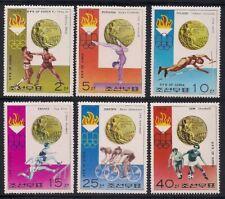Korea...   1976   Sc # 1491-96   Olympic  MNH   OG   (3-6352)
