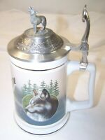 """Call of the Wild Stein Timber Wolf """"Lord of the Wilderness"""" Collectible"""