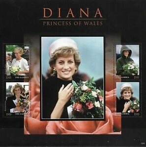 "GAMBIA - 2013 MNH ""Princess Diana Princess Of Wales"" Souvenir Sheet !!"