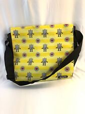 Loungefly Limited Edition Men's/Women's Messenger Robot And Heart Bag Rare Find