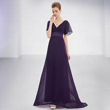 Ever-Pretty Evening Party Dress Cocktail Wedding Prom Gown Bridesmaid Lot 09890 20 Purple