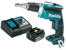 Makita XSF03Z 18V LXT L-Ion BL Cordless Drywall Screwdriver w 5Ah bat and charge