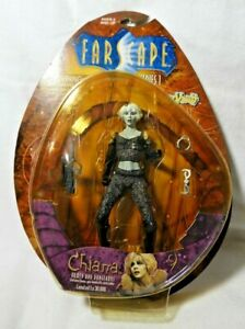 (TOY VAULT) FARSCAPE SERIES 1 (CHIANA A REBEL NEBARL) ACTION FIGURE 2000 NEW!
