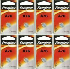 Button Cell Type LR44 A76 AG13 Battery Energizer 8 Pcs