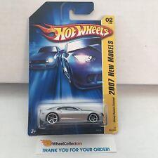 #4  Chevy Camaro Concept #2 * SILVER * 2007 Hot Wheels * WG14