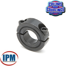 "NEW!  15/16"" Double Split 2-PC Clamp Shaft Collar, Steel Black Oxide CCI-93-2S"