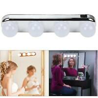 Hollywood 4 LED Vanity Makeup Mirror Light Bright Bulbs For Dressing Table Light