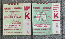More details for argentina v west germany and spain v west germany - world cup 1966 tickets