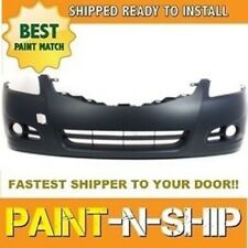 Fits; NEW 2010 2011 2012 Nissan Altima Sedan Front Bumper Painted (NI1000268)