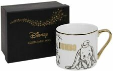 DISNEY COLLECTABLE DUMBO GOLD RIM MUG FROM WIDDOP & CO