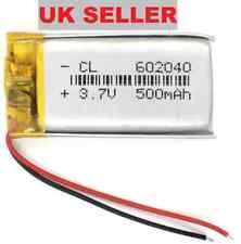 3.7v 500mAh Li Polymer Lipo 602040 Rechargable Battery