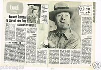 Coupure de Presse Clipping 1980 (2 pages) Fernand Raynaud