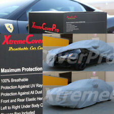 2015 MASERATI GHIBLI Breathable Car Cover w/Mirror Pockets - Gray