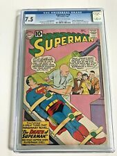 Superman #149 CGC 7.5 CR/OW (DC, 1961) Death of Superman