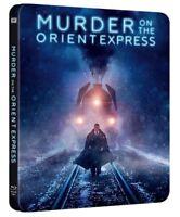 Murder on the Orient Express (2017) Steelbook Blu Ray