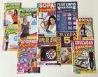 Paquete de 10 revistas de pasatiempos - sopas, autodefinidos, cruzadas...