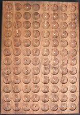 CHERRY PATHTAG GEOCOIN DISPLAY - HOLDS 96 TAGS - UNIQUE & MADE IN USA